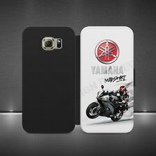Yamaha Motorcycle Logotipo De lujo Abatible Billetera Estuche Cubierta para IPHONE 8 SAMSUNG NOTE