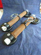 A GOOD SET OF VINTAGE PELICAN MAGNETIC CAR ROD CLAMPS
