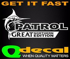 Patrol Nissan Gu Sticker 4x4 Decal Diesel Turbo Gq Ute