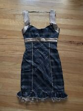 NWOT BEBE plaid Dress Sz 0