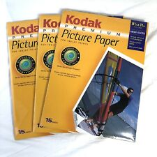 Kodak Premium Picture Photo Paper 45 Sheets High Gloss 8 1/2 x 11 Inkjet Printer