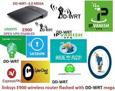 Linksys E900 DD-WRT-LINKSYS OPEN VPN ROUTER- DD-WRT MEGA BUILD