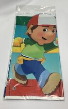 """HANDY MANNY PLASTIC TABLE COVER 54"""" X 102"""" PARTY SUPPLIES"""
