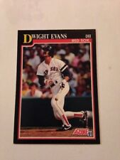 1991 SCORE #225 DWIGHT EVANS Red Sox