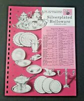 Vintage ROGERS & BRO Silverplated Holloware 1962 Pages from Manar Sales Catalog