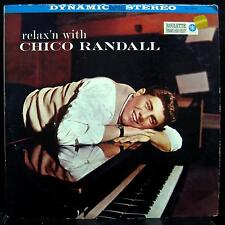 CHICO RANDALL relax'n with LP VG+ SR-25092 1st Vinyl 1958 Record