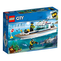 60221 LEGO CITY Diving Yacht 148 Pieces Age 5+