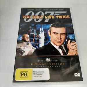 You Only Live Twice (DVD, 2-Disc Ultimate Edition) James Bond R4