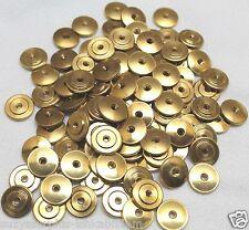 large brass insignia screw back nut lot of 1000 pcs