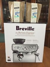 Breville Barista Express BES870XL Espresso Machine - Stainless Steel +JBM Coffee
