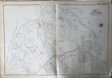 1907 E. ROBINSON, RICHMOND, STATEN ISLAND, NY ST. MICHAEL'S HOME, COPY ATLAS MAP