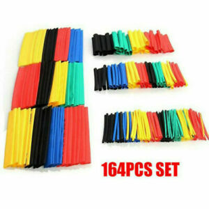Heat Shrink Tubing Electrical Insulation Tube Wrap Cable Sleeve 164pcs