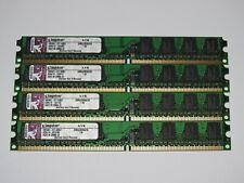 KIngston 4GB (4x 1GB) DDR2 533MHz 4200U RAM Arbeitsspeicher KVR533D2N4/1G