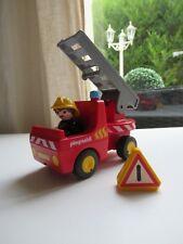 🍓 Playmobil 123 Camion De Pompier 6716 Complet
