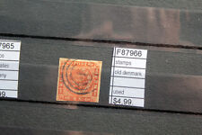 STAMPS OLD DENMARK USED (F87966)