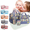 5 Pcs Baby Nappy Changing Bag Set Diaper Mummy Mother Handbag Multifunctional