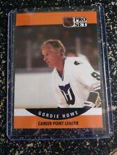 1990-91 Pro Set Gordie Howe #654