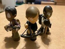 Funko Mystery Mini LOT of 3 The Walking Dead Daryl Dixon + Morgan + Noah Figures