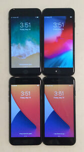 FOUR TESTED CDMA + GSM UNLOCKED VERIZON APPLE iPhone 7, 32GB A1660 PHONES L175P