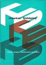 Aircraft Manufacturer Brochure - Hawker Siddeley - FRENCH language (B576)
