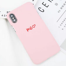 Fashion Love Heart Painted Phone Case Couples Cover For iPhone X 8 7 6 Plus 5 SE
