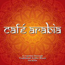 Cafe Arabia - 40 Traditional Arabic Music Tracks 2CD NEW/SEALED