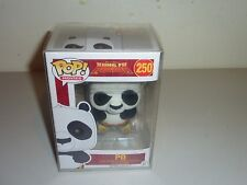 funko pop  kung fu panda po 250 flocked inc protector mint vaulted