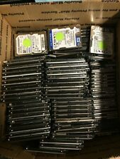 "Lot of 15 160GB 2.5"" SATA Laptop Hard Drives WIPED, SMART-TESTED & READY FOR USE"