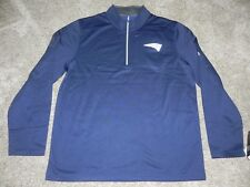 NEW ENGLAND PATRIOTS ACROSS THE SCOREBOARD 1/4 ZIP PULLOVER MEN XL BRAND NEW