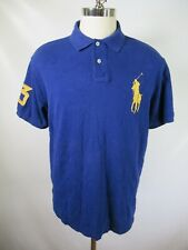 F6767 Men's Polo Ralph Lauren Big Pony Short Sleeve Polo Shirt Size XL