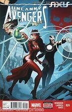 Uncanny Avengers #24 Comic Book 2014 MTAX - Marvel