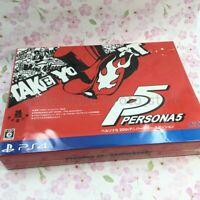 USED PS4 Persona5 20th Anniversary Edition Treasure BOX Art book 01152 JP IMPORT