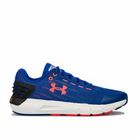 Junior Boys Under Armour Charged Rogue Trainers In Blue- Lightweight- Mesh Upper