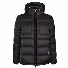 $2300 MONCLER Men BLACK DOWN HOODED AUTHENTIC quilted PUFFER JACKET COAT 5 XL