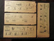 """1929/30 GOOFEY MOVIES Daily Strips by Neher VG- 12x5"""" LOT of 124"""