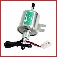 Aussel 12V Universal Heavy Duty Electric Fuel Pump Metal Low Pressure Bolt Wire