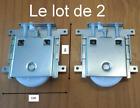 2 galets roulettes robustes porte coulissante placard armoire dressing,réglable