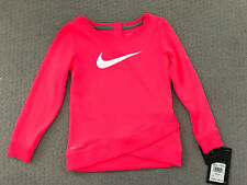 NIKE GIRLS RACER PINK LONG SLEEVE SHIRT Size 24M New