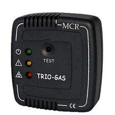TRIO GAS ALARM lpg carbon monoxide ether caravan motorhome campervan co 12v