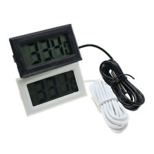 Водонепроницаемый мини цифровой ЖК-термометр аквариум холодильник температура воды @