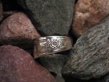 Elegant Spoon Ring R161 Size 11.5 Western Skies Silver