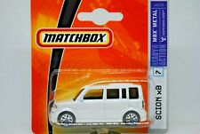 Matchbox SuperFast no: 7 SCION xB COMPACT Car By TOYOTA in Metallic White MOC
