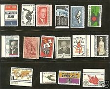 US 1965 Commemorative Year Set with 16 Stamps MNH