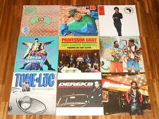 Rap - Hip Hop - SAMMLUNG - 9 LPs - Tone Loc - Gucci Crew - Queen Latifah - Derek