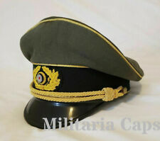 WW2 German Army Generals Officers Service Visor Hat Schirmuttzen Reproduction
