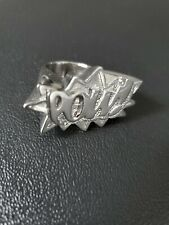 AMBUSH POW Ring Silve size M made in Japan 100% Authentic bape bbc supreme pinky