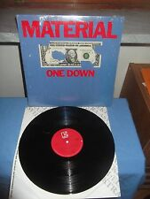 "Material ""One Down"" LP ELEKTRA USA 1982"