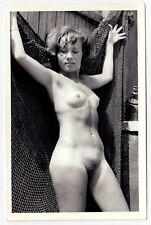 Nudism PRETTY NUDE WOMAN w TANLINES / HÜBSCHE NACKTE FRAU * 60s Akt Photo #3