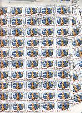 CCCP URSS 9 feuilles/sheet x50TP/stamps1983 Medecine au service de la Paix