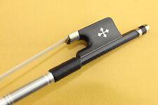 High quality New black Lattice Carbon fiber cello bow 4/4 Ebony Frog